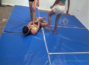 Bondage wrestling and humiliation 3